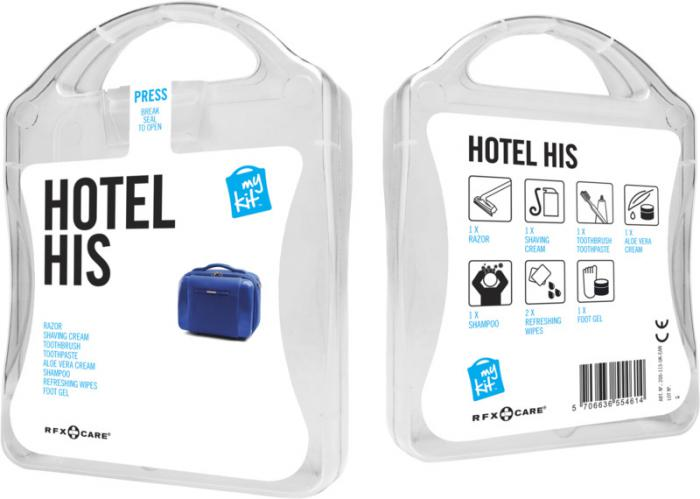 MyKit Hotel set heren transparant
